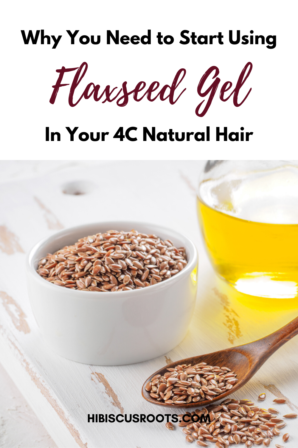 Easy Flaxseed Gel Recipe for Natural Hair - 10 min tops!