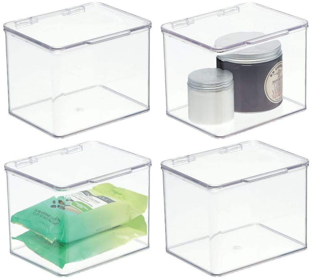 glass storage box