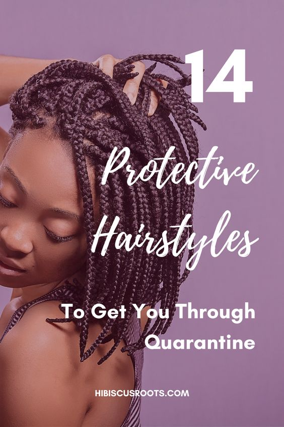 14 Gorgeous Natural Hairstyles You Can Do At Home!