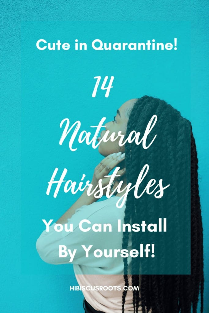 Natural protective and low-manipulation hairstyles