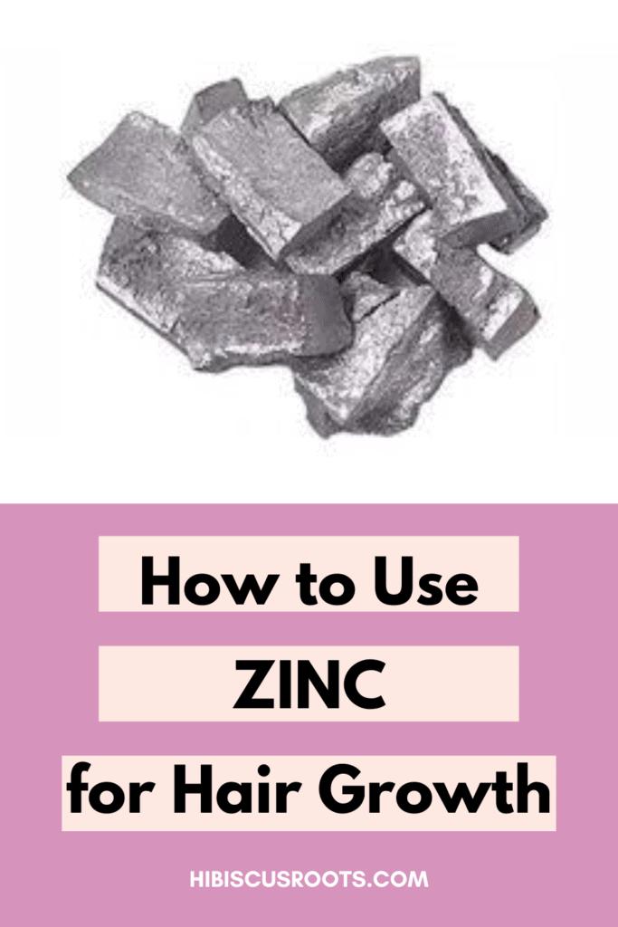 zinc benefits for hair loss