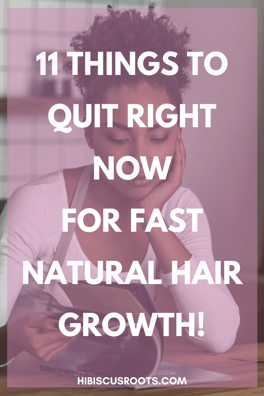 11 INEFFECTIVE Ways to Grow Long Natural Hair!