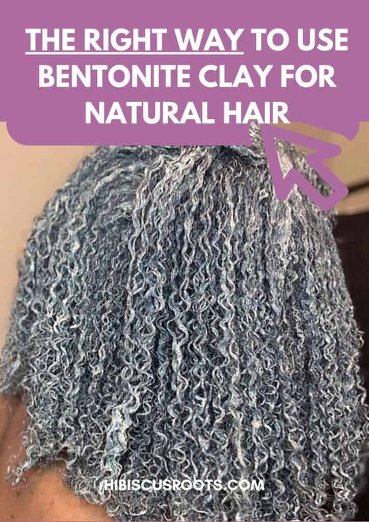 bentonite clay for hair