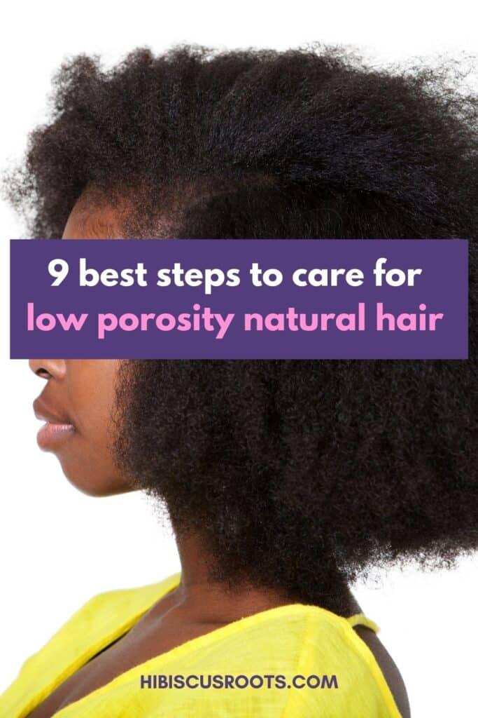 low porosity natural hair