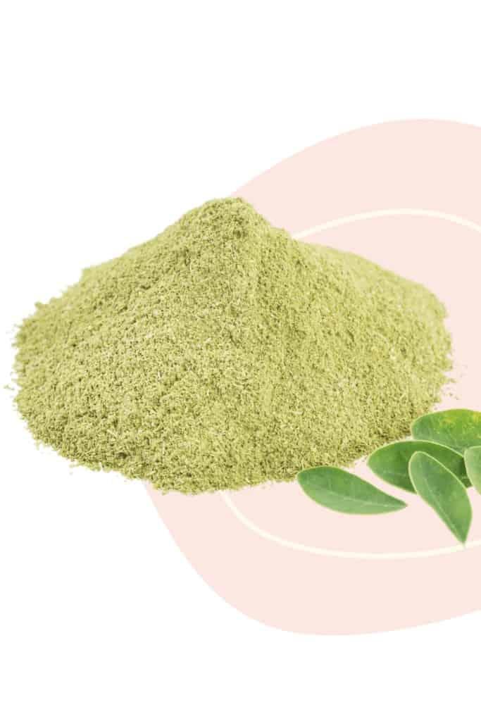 moringa powder benefits for hair