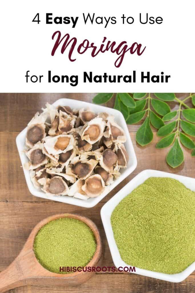 how to use moringa for hair