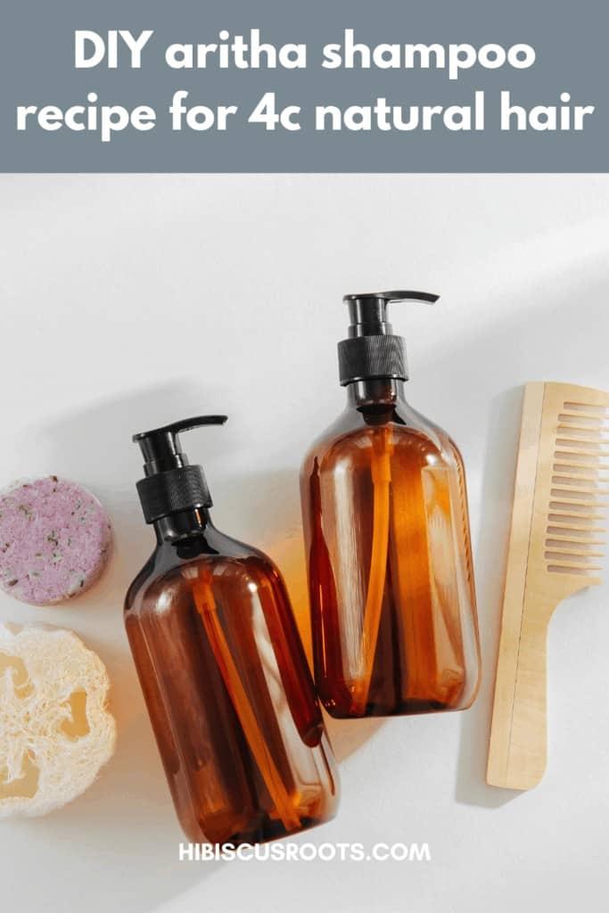 diy shampoo aritha benefits for natural hair