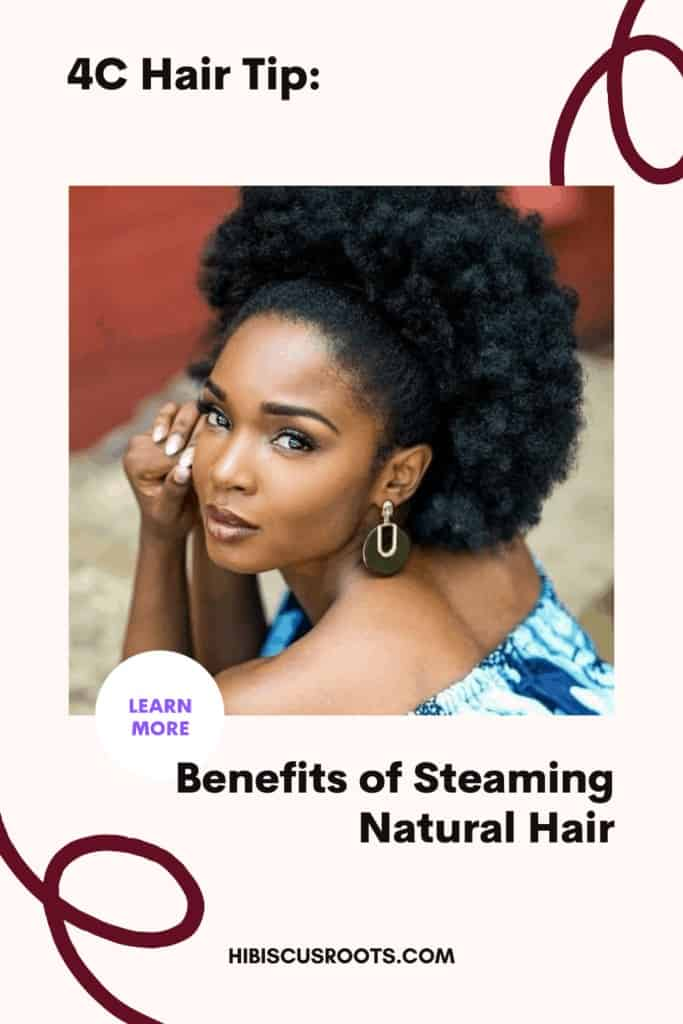 how to steam natural hair at home