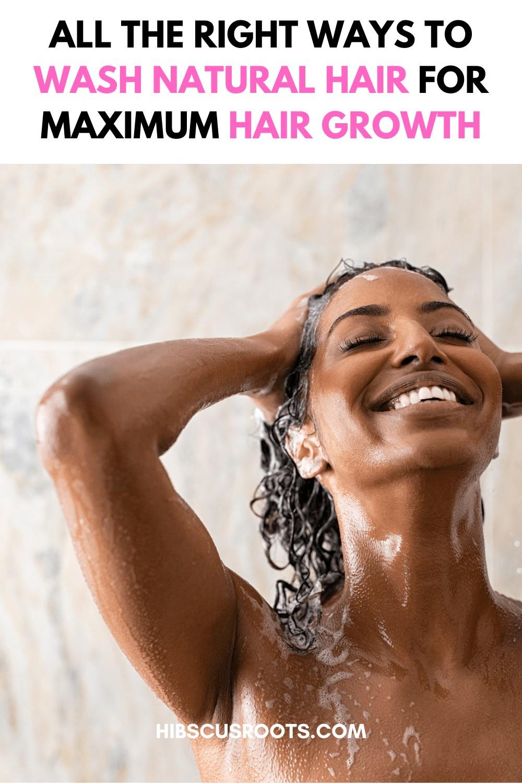 Washing Your 4C Natural Hair Wrong might be Ruining Your Progress!