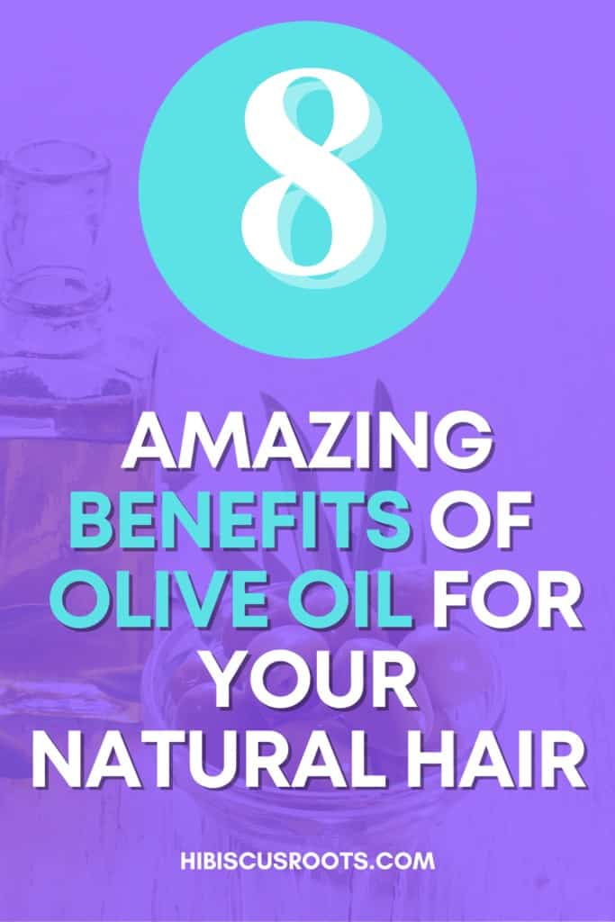 is olive oil good for hair