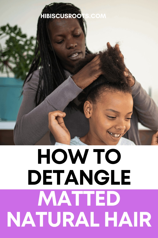 How to Detangle 4C Hair Naturally! (Home Remedies)
