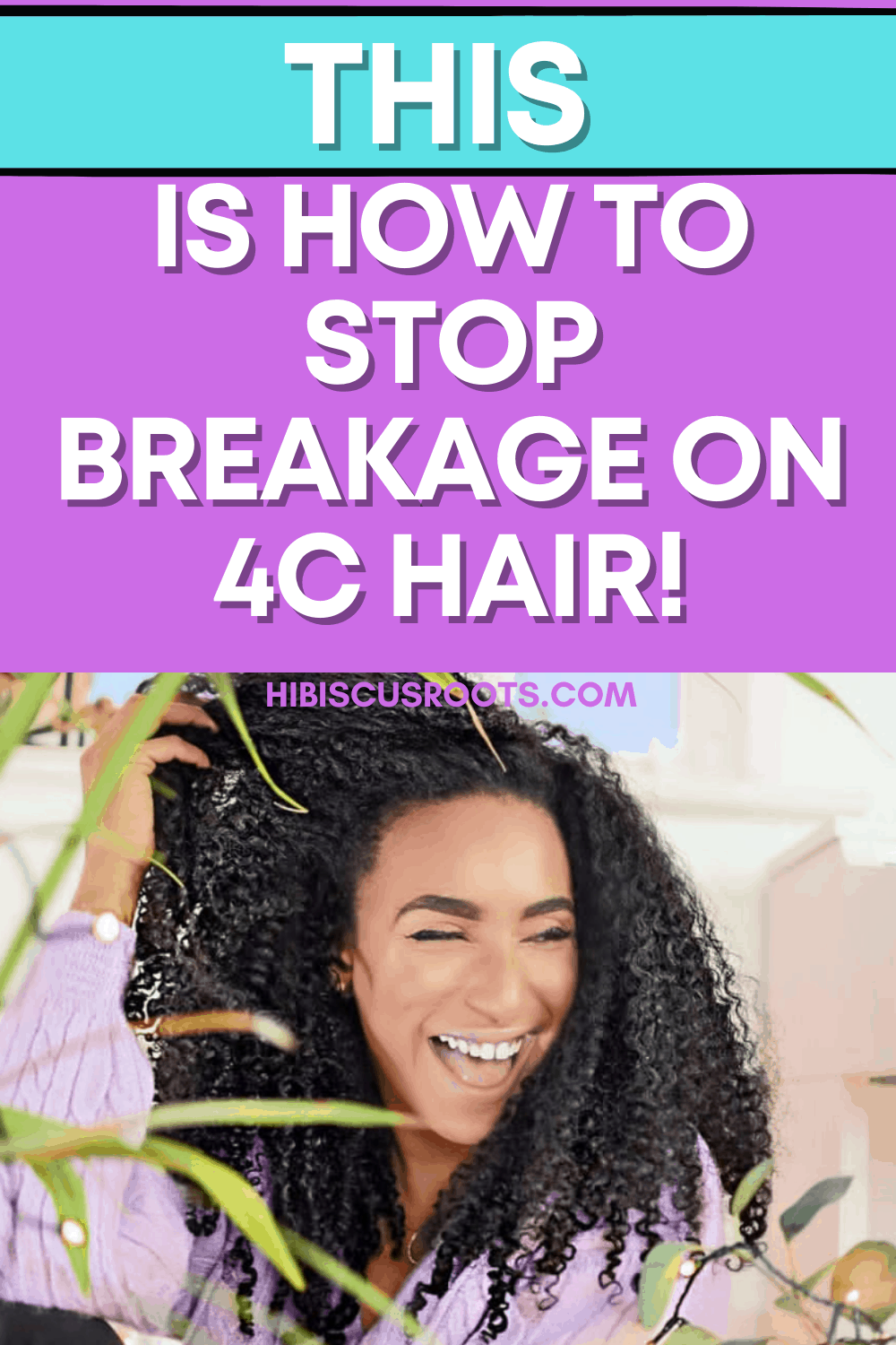 How to Stop Breakage on 4C Natural Hair NOW!