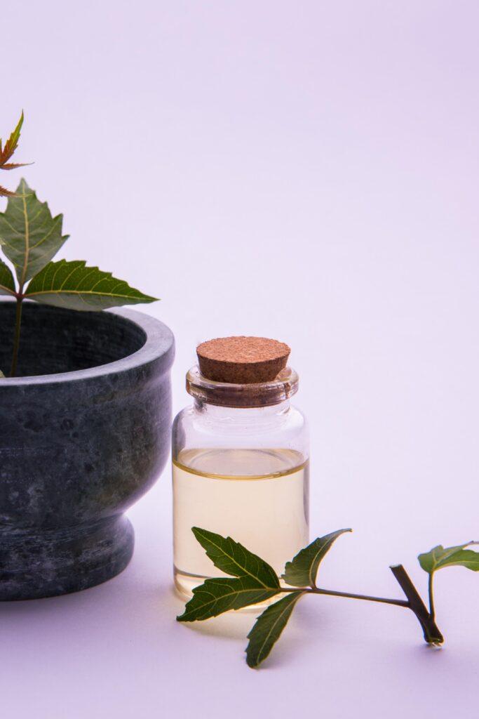 neem natural hair oil