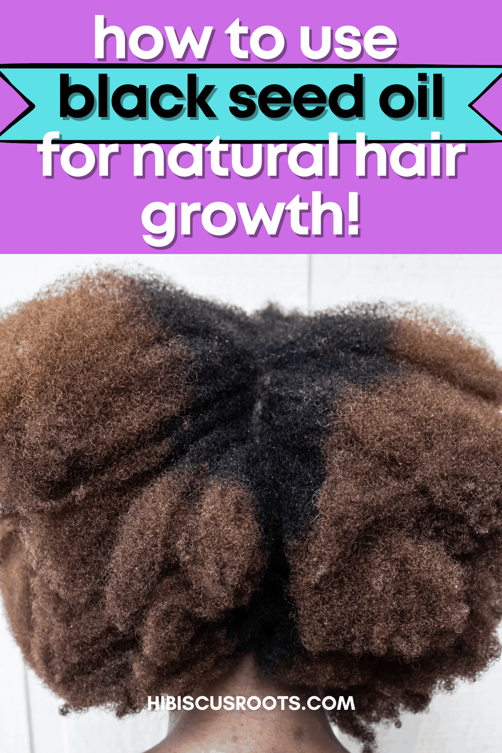 The Benefits of Black Seed Oil for Natural Hair!
